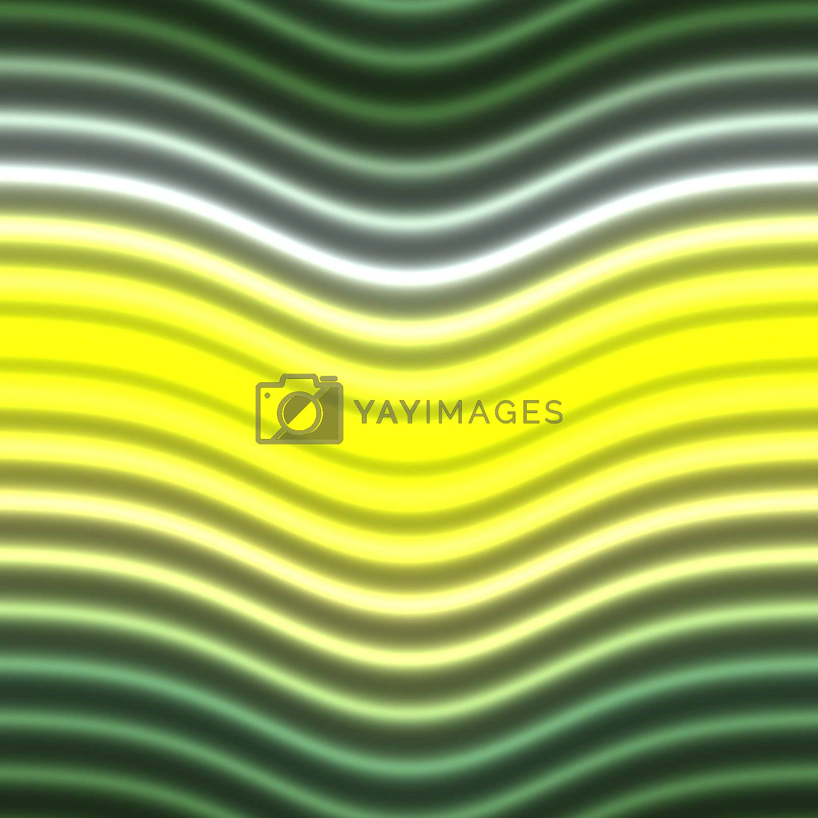 Colorful glowing neon lines abstract graphic design illustration