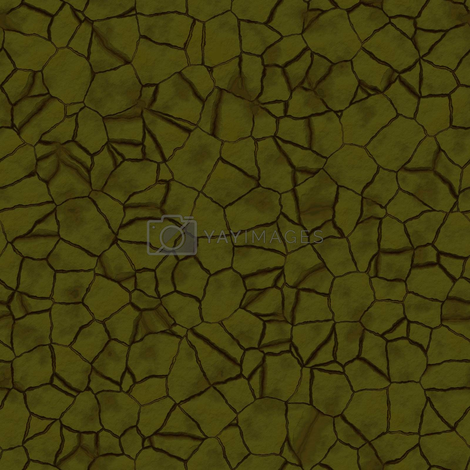 Cracked dry earth ground drought surface seamless texture