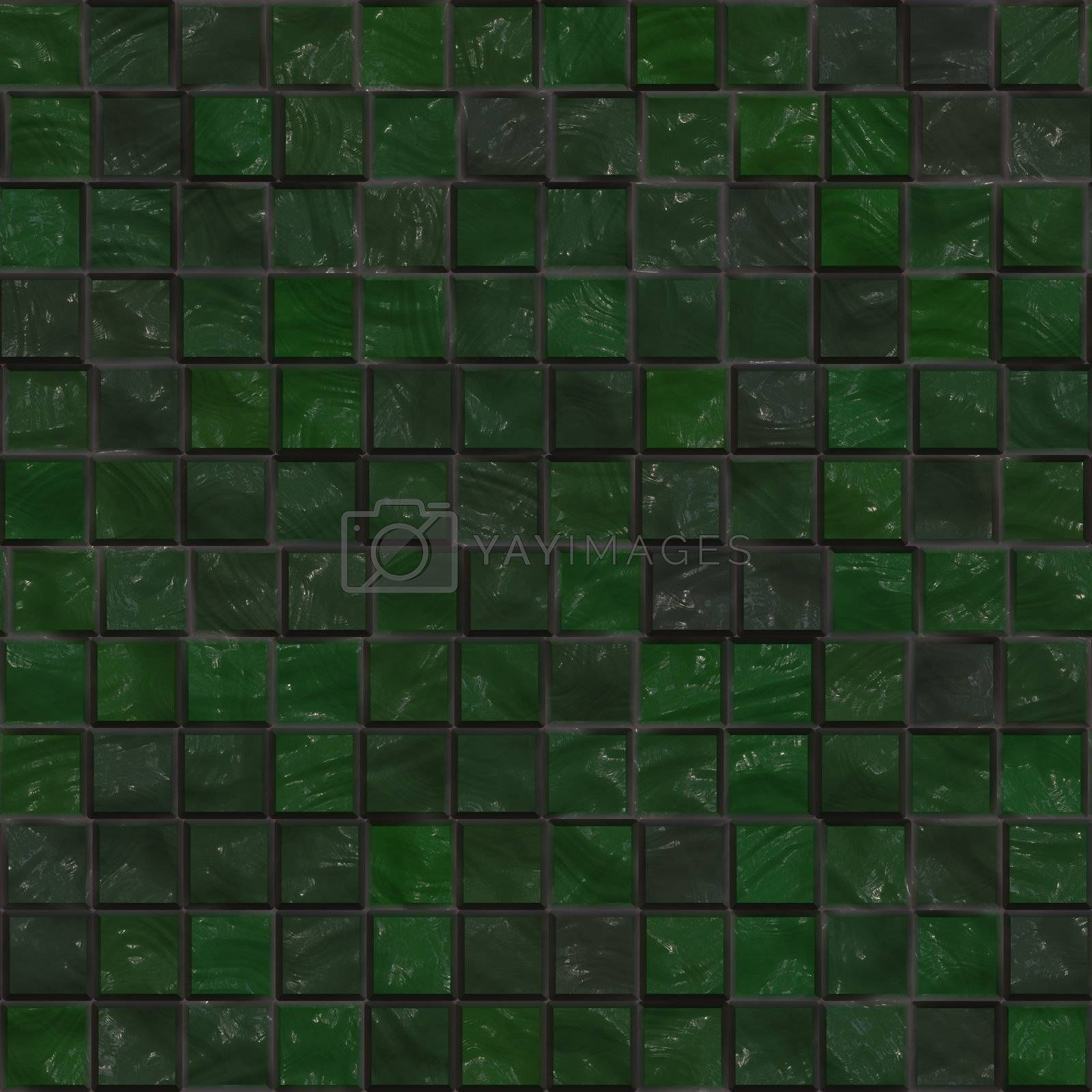 Colorful tiles pattern ceramic seamless background wallpaper
