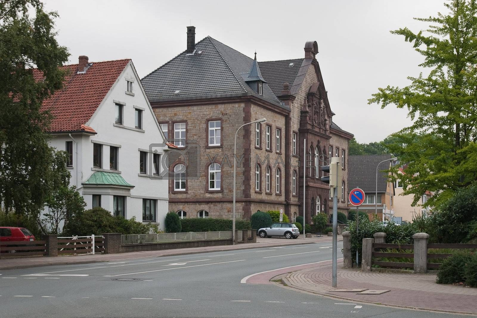 Stadthagen is the capital of the district of Schaumburg, in Lower Saxony, Germany
