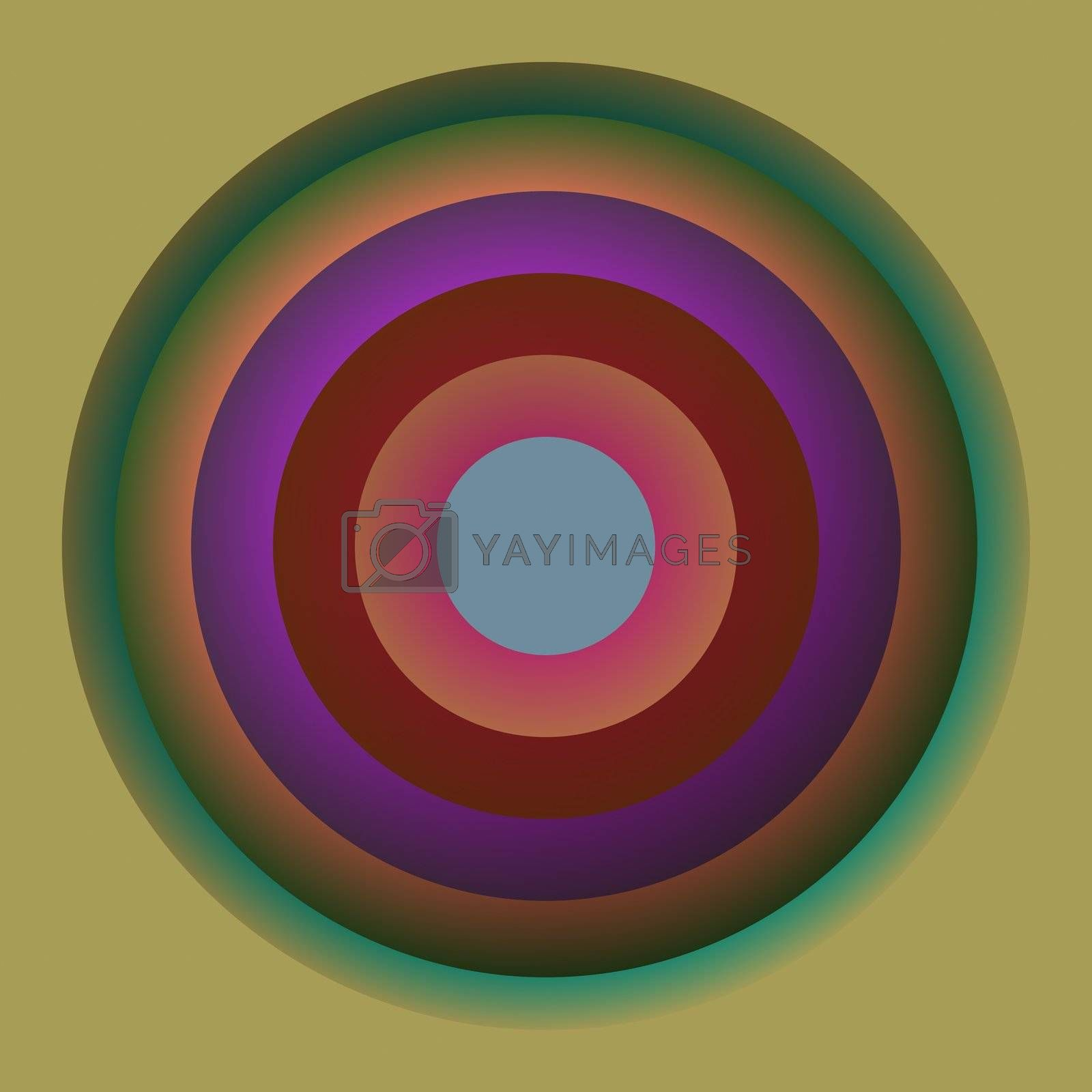 Royalty free image of Color circles by kgtoh