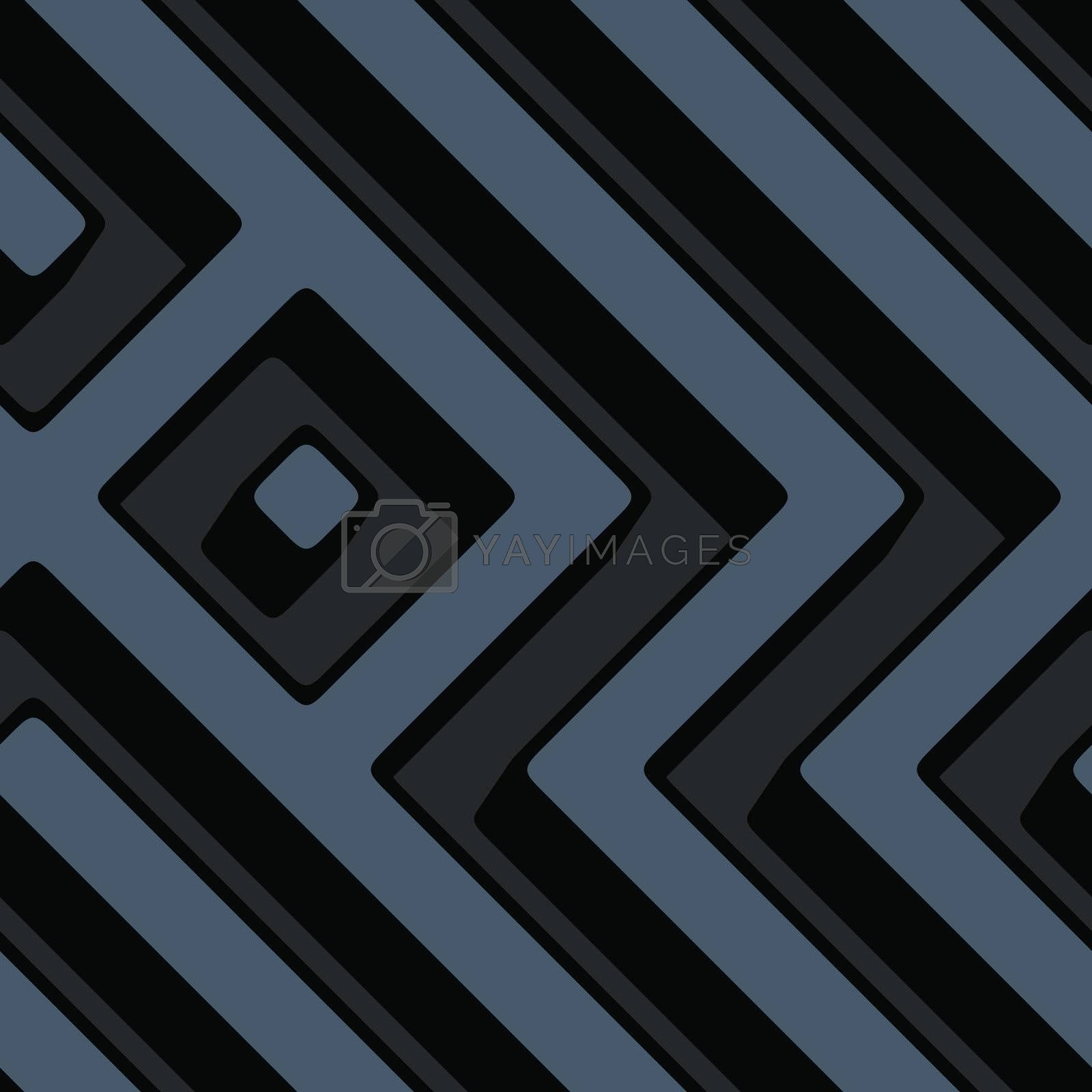 Royalty free image of Abstract geometric maze background by kgtoh