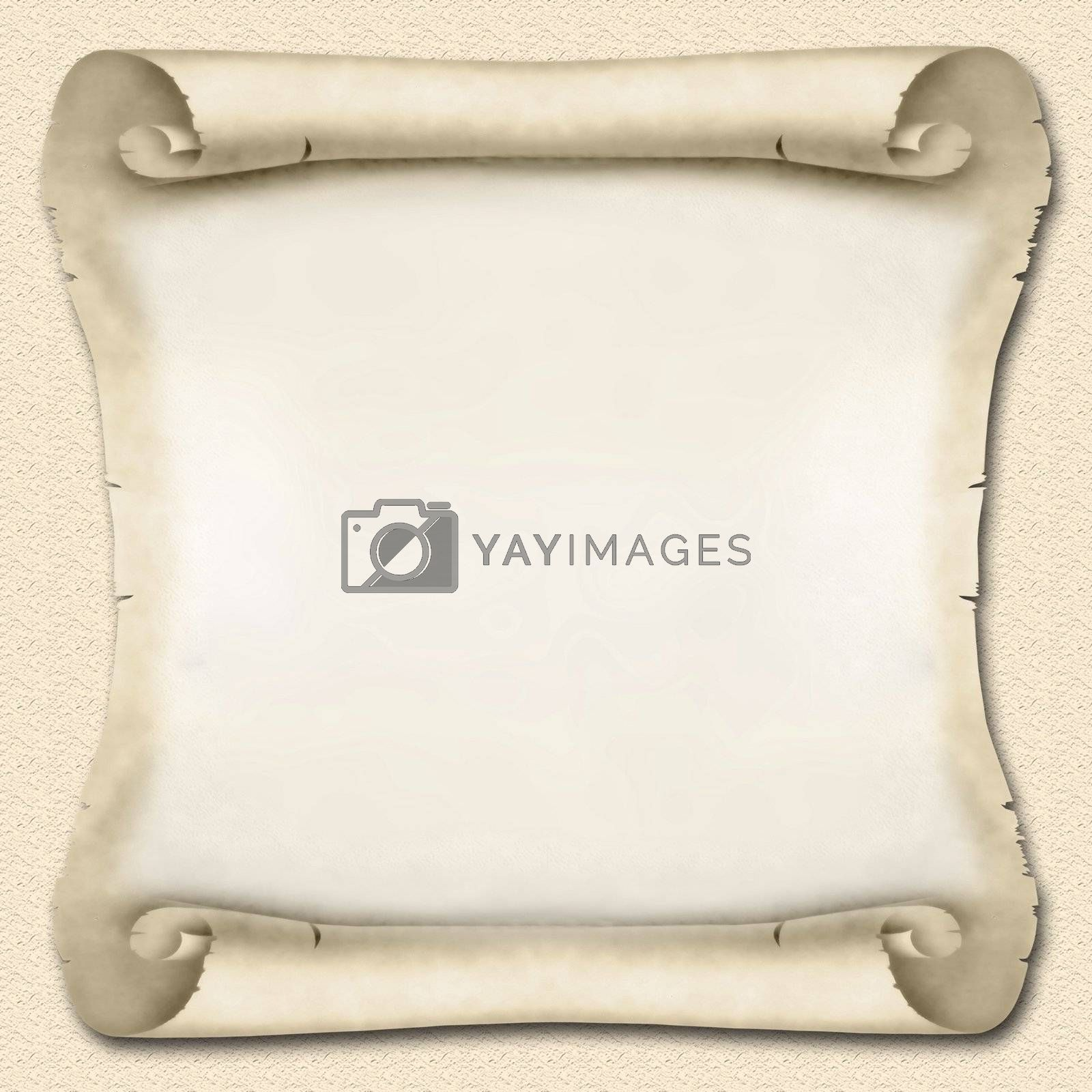 Blank Ancient Scroll Royalty Free Stock Image | Stock ...