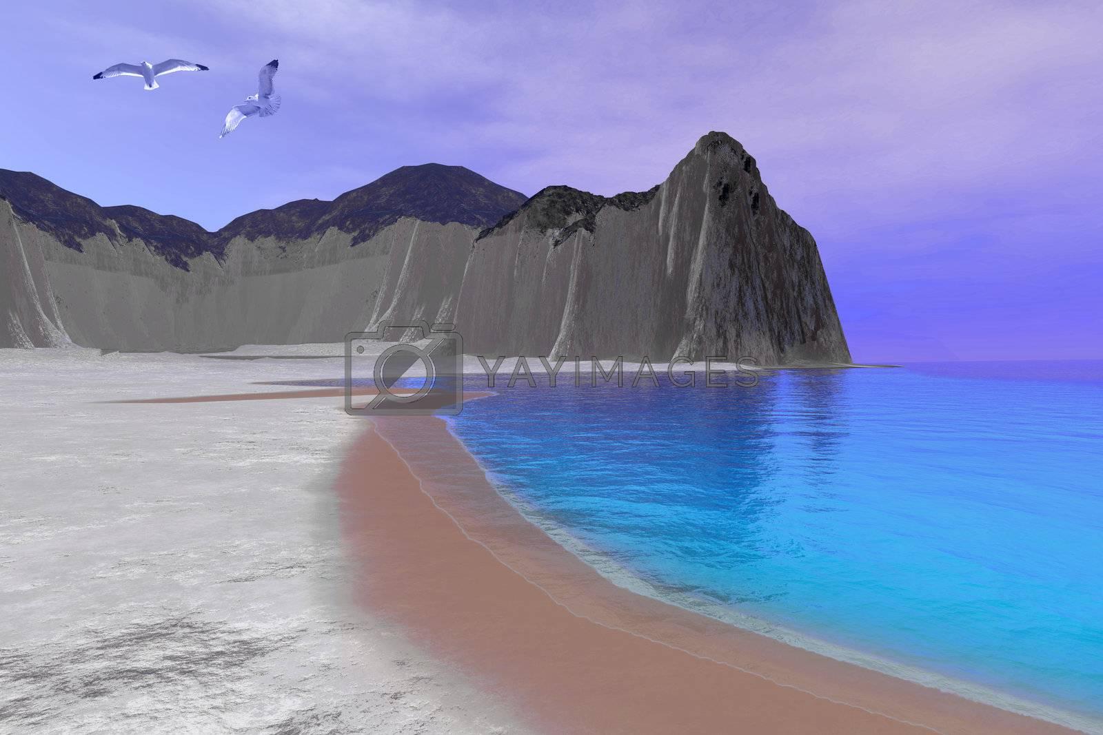 Royalty free image of SIMONE BEACH by Catmando
