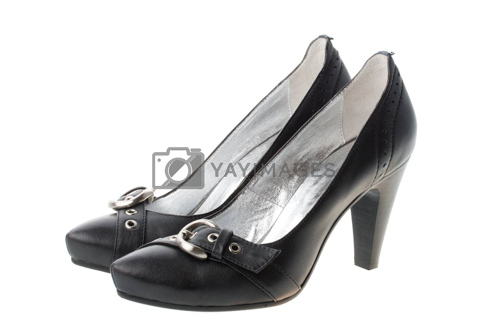 black woman shoes with small straps by Alekcey