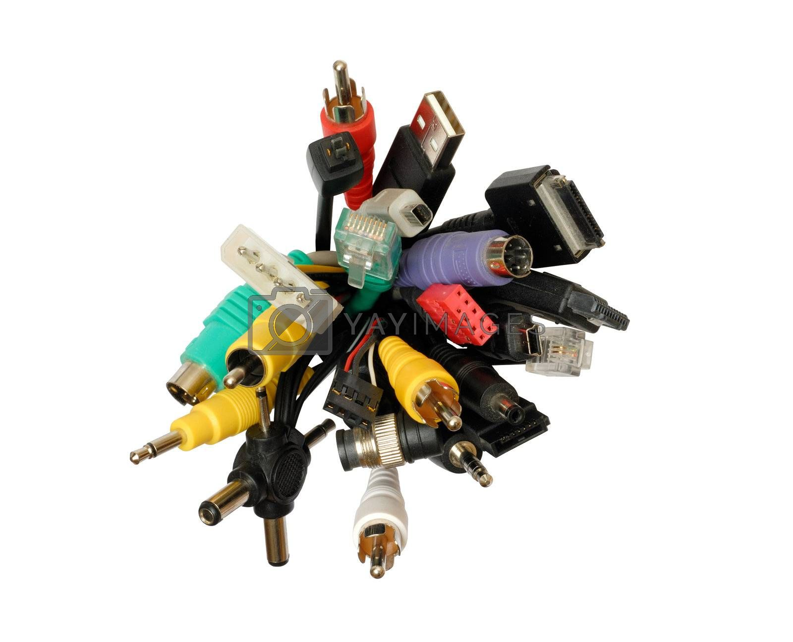Isolated set of connectors