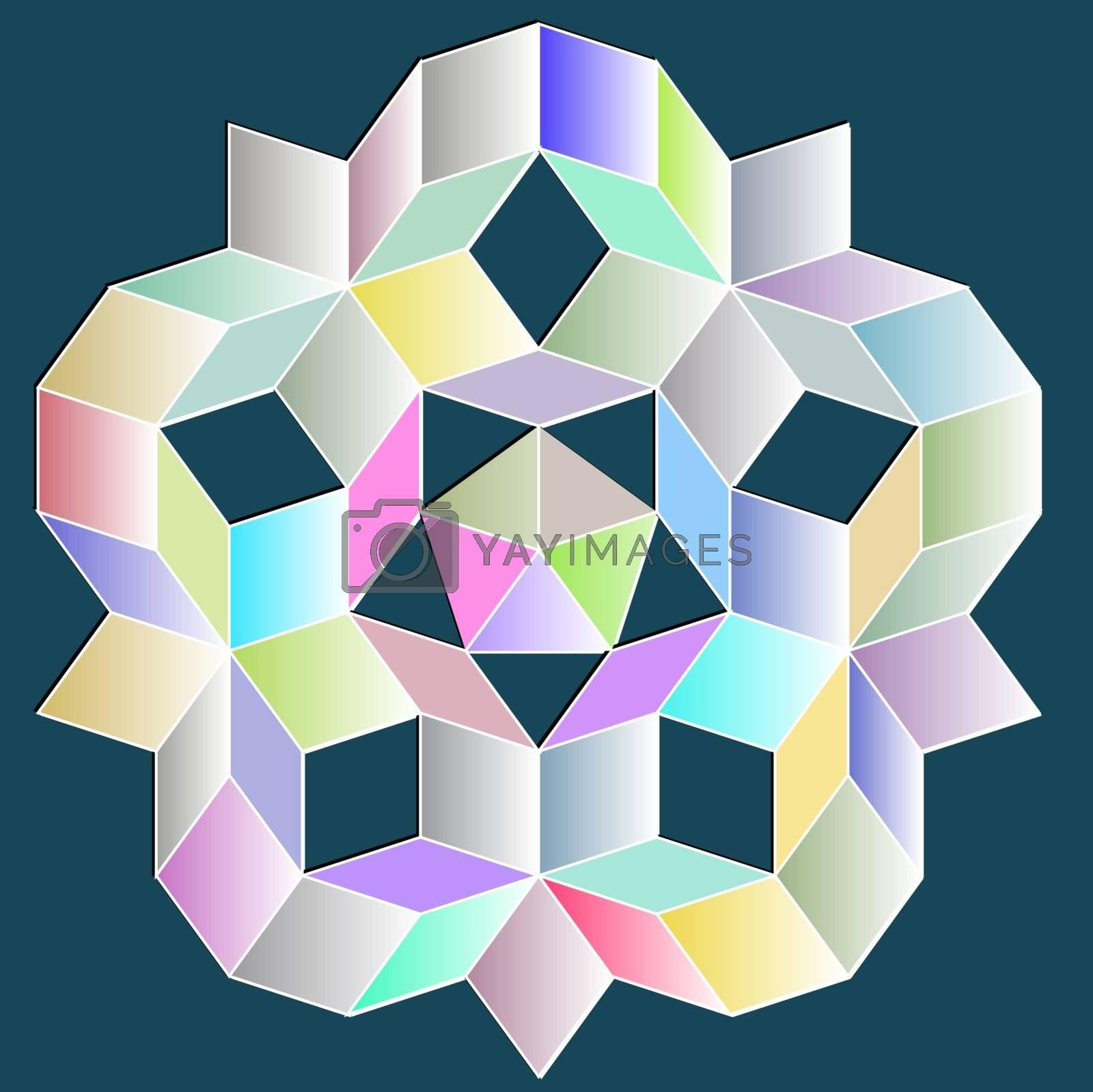 P3 Penrose Tilings   Penrose tiling, Geometric pattern