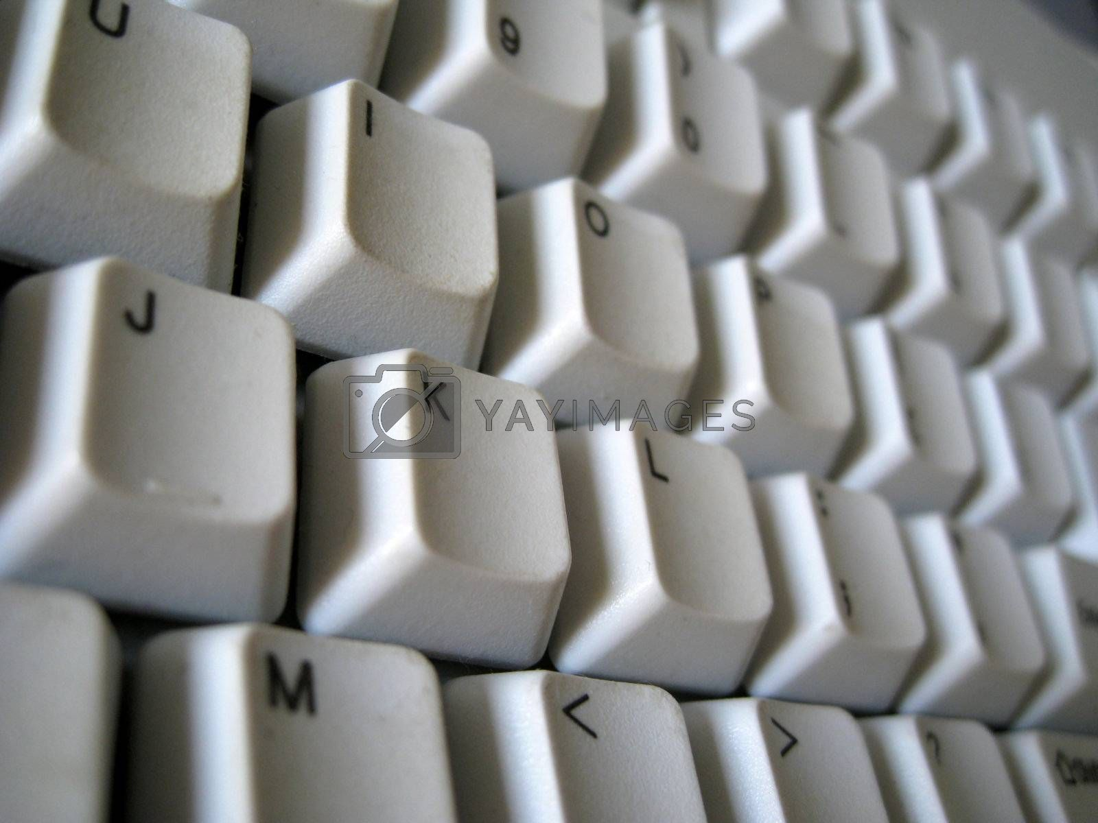 close up for keyboard