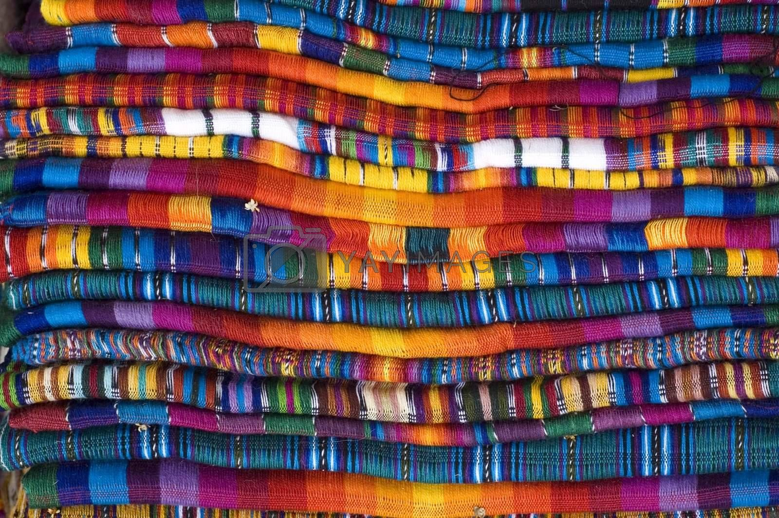 Mayan Blankets for sale stacked
