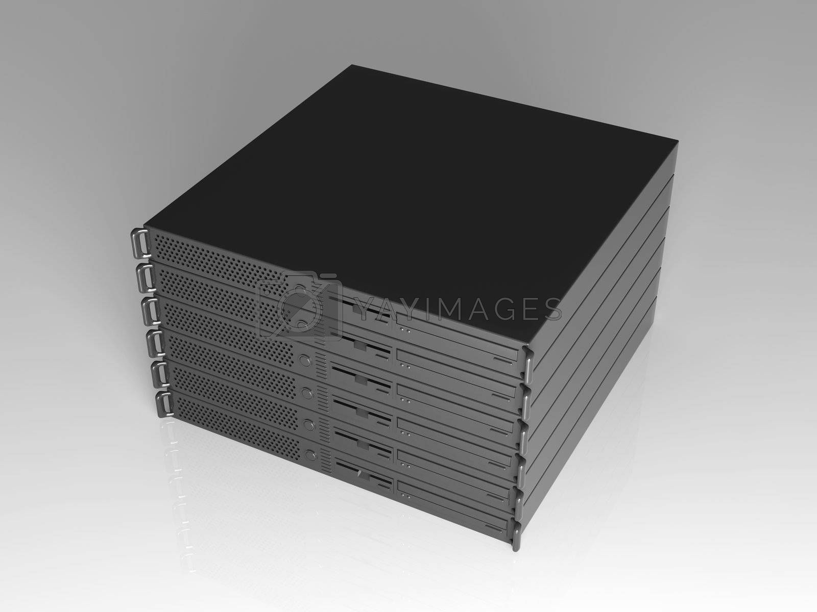 19inch Server Stack by Spectral