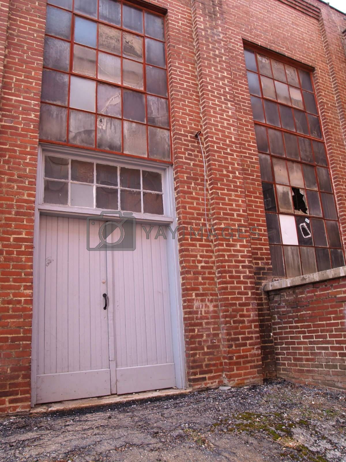 doors and windows for an old factory