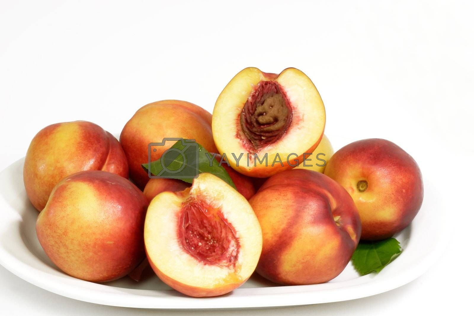Healthy nectarines by Teamarbeit