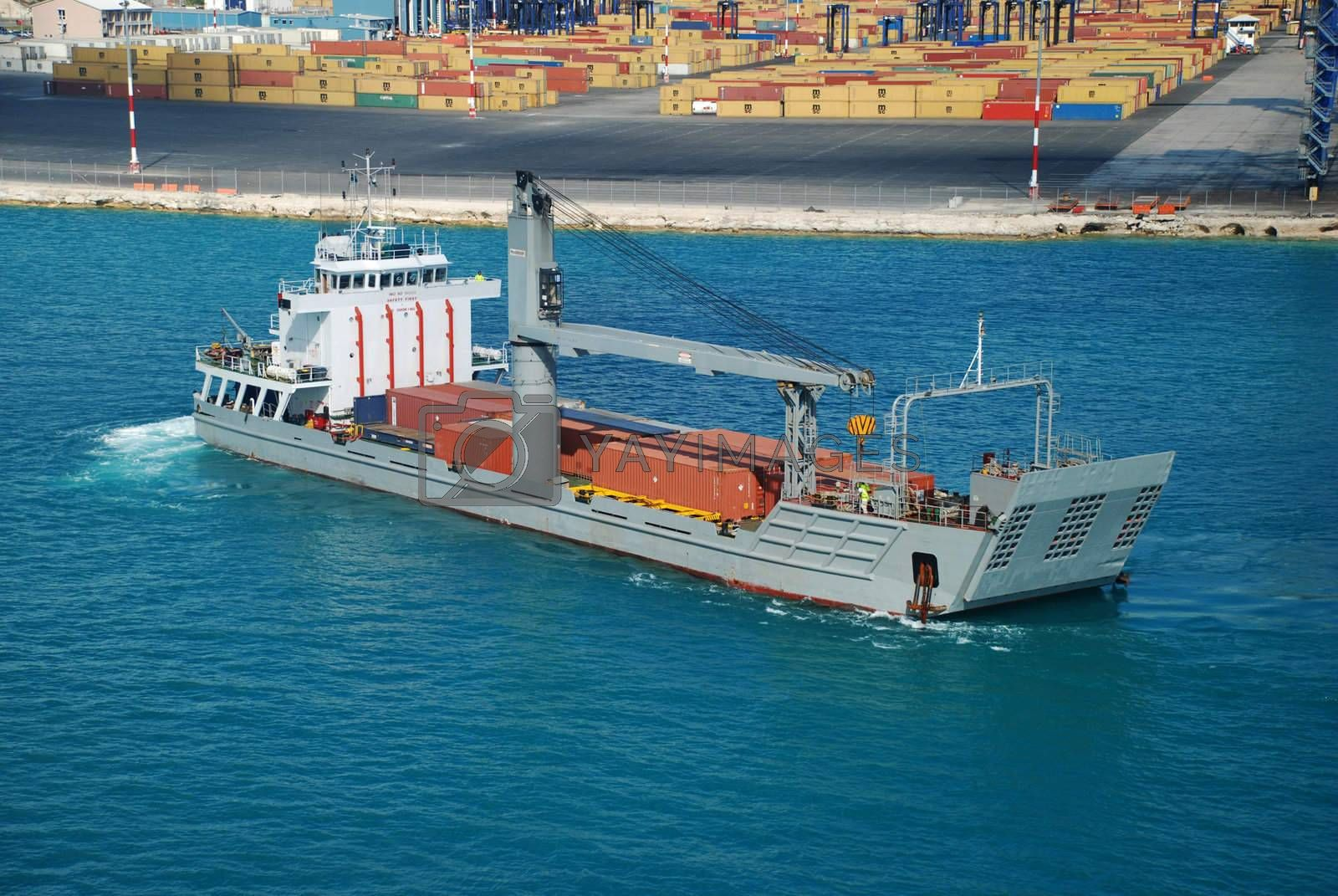 stock pictures of a boat used for transporting cargo