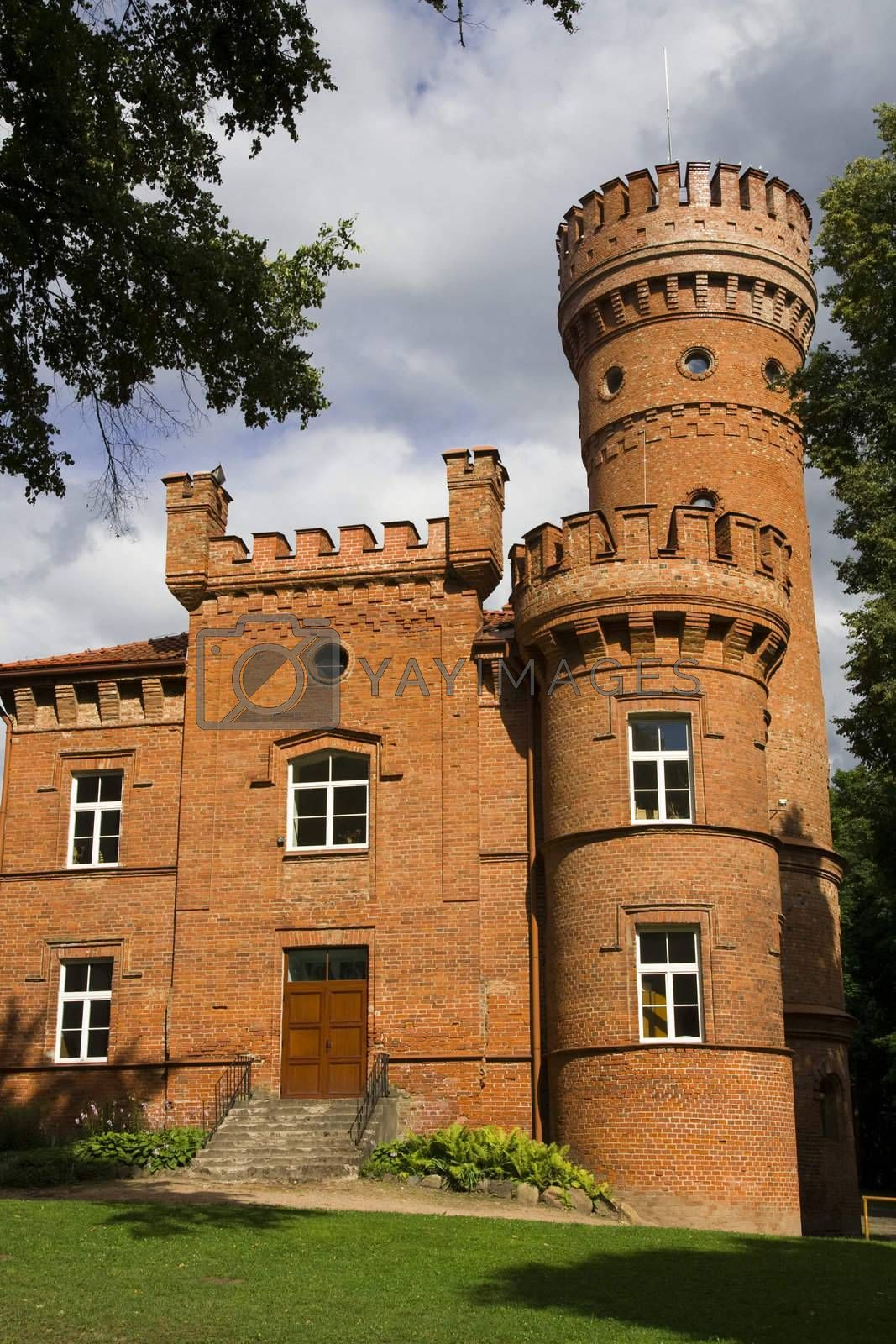 Castle Raudone - the picture was taken in Lithuania