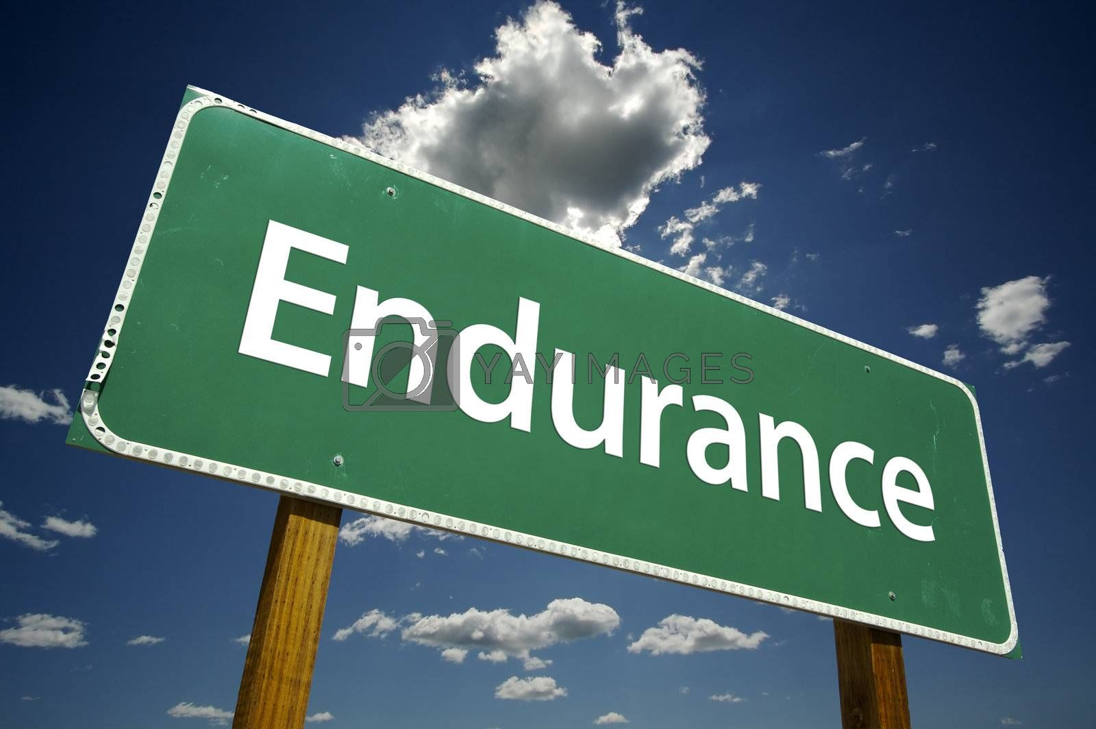 Endurance Road Sign by Andy Dean Photography