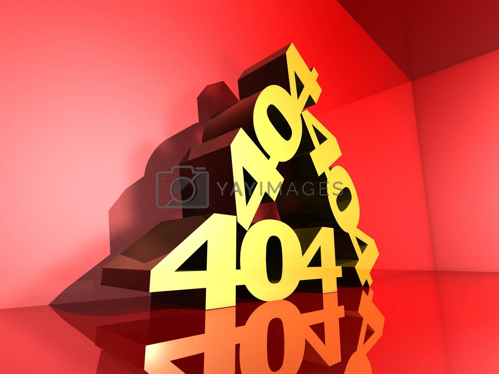 3D Illustration.