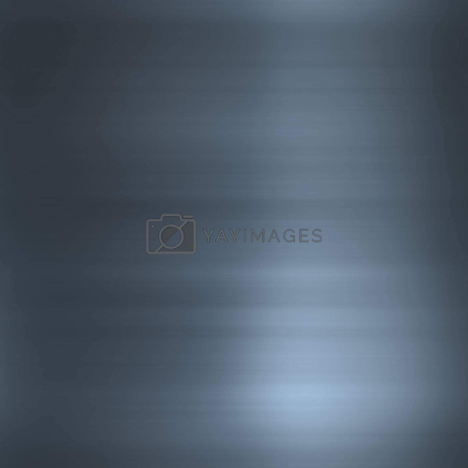 Brushed smooth glossy metal surface texture background illustration