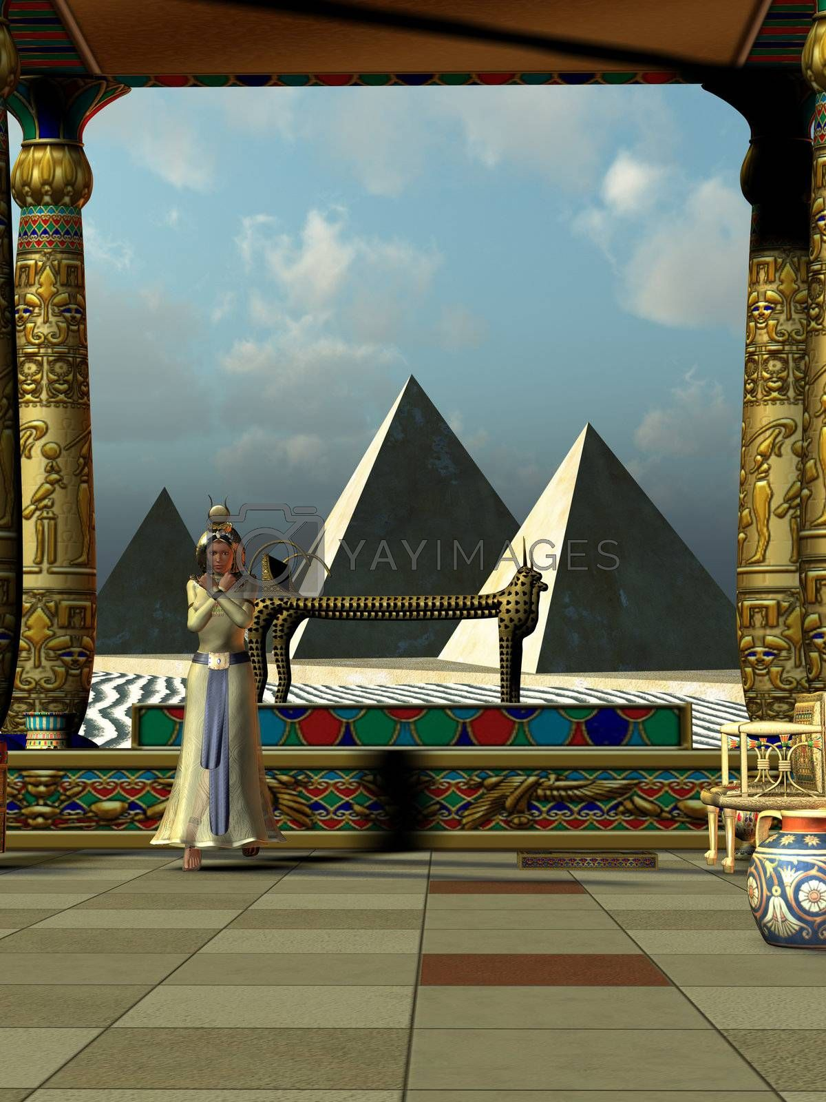 Royalty free image of ANCIENT EGYPT by Catmando