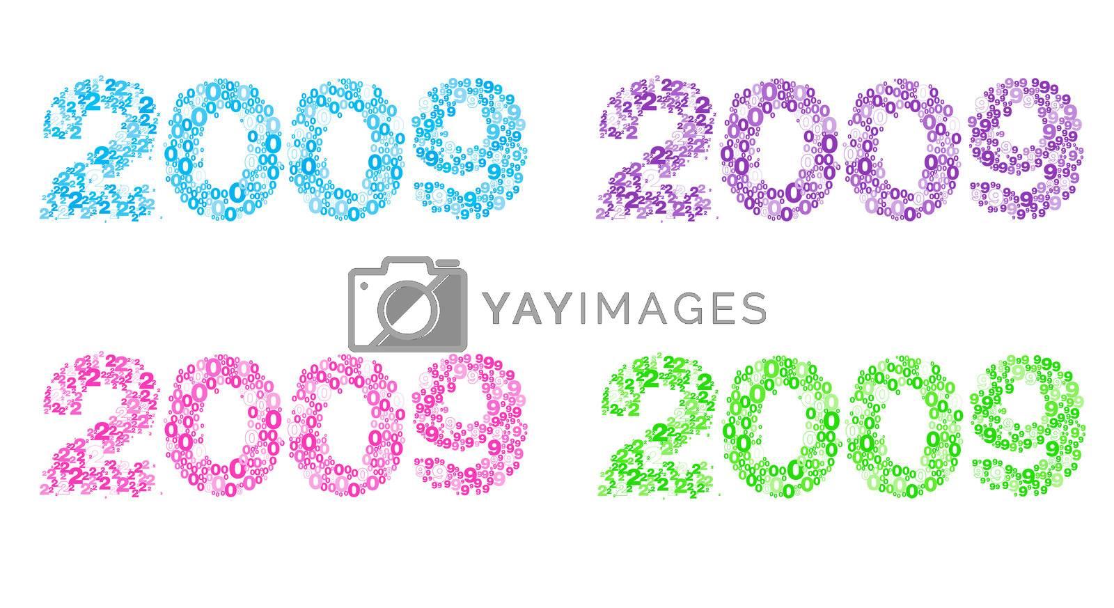 Happy New Year 2009 by khwi
