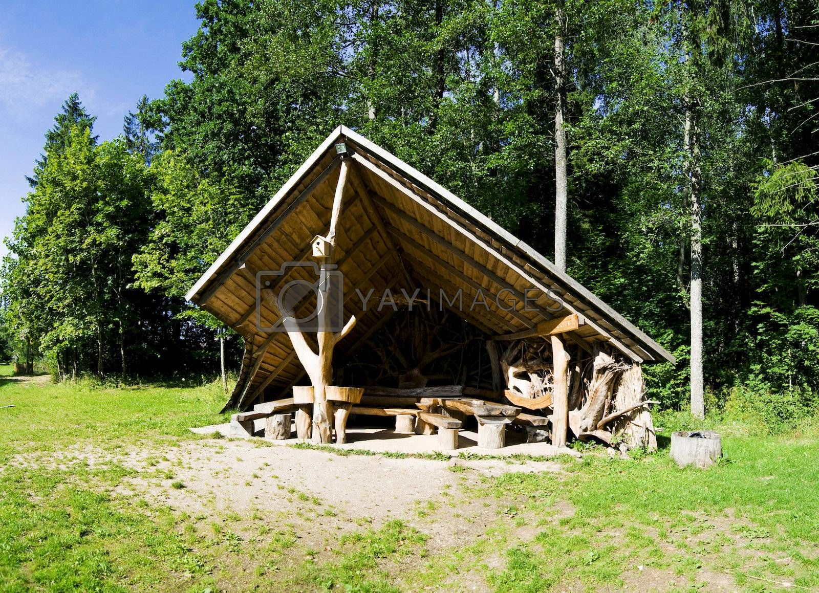 Holiday resort in Baltic country Lithuania