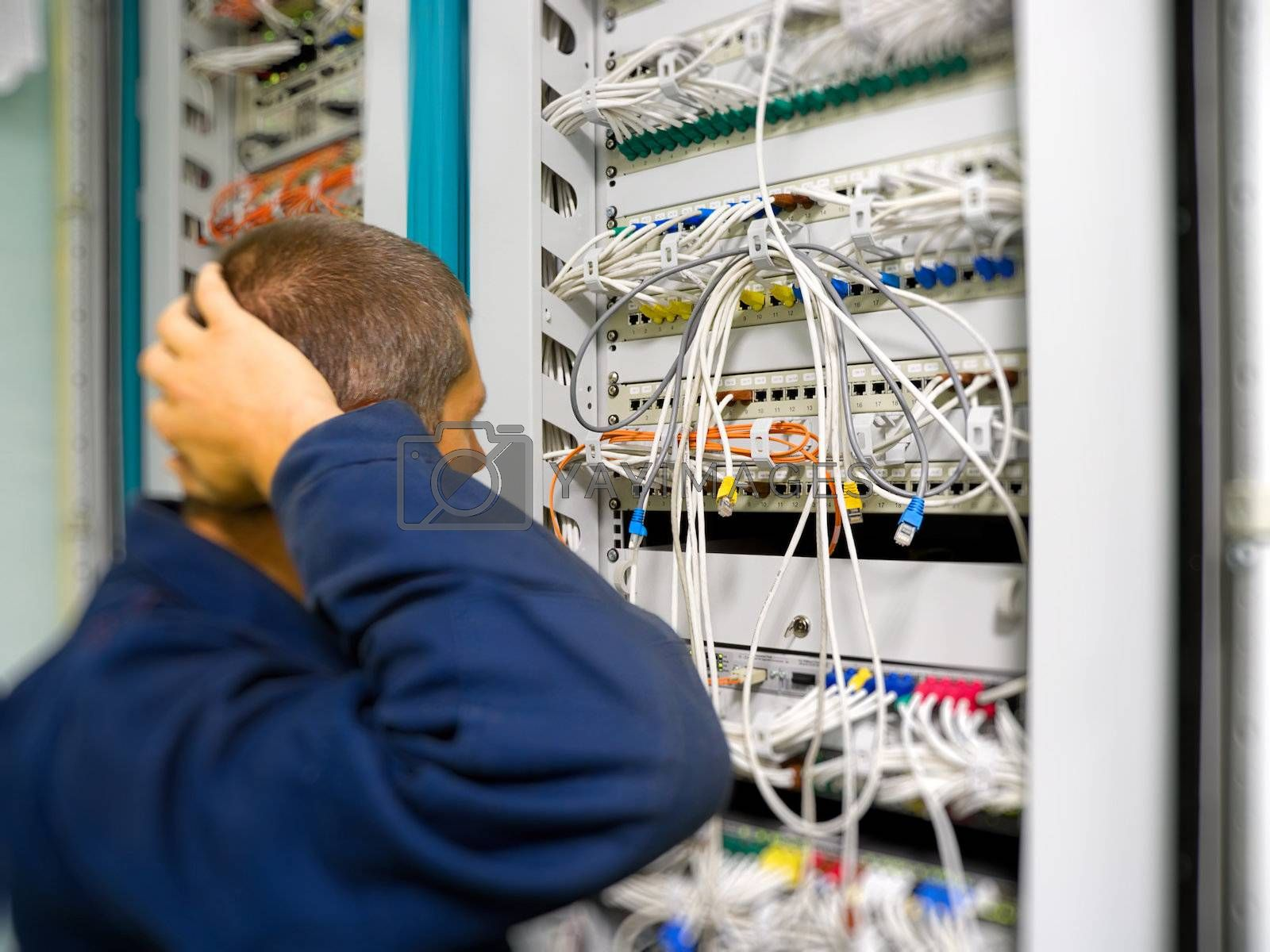 Network engineer solve the problem