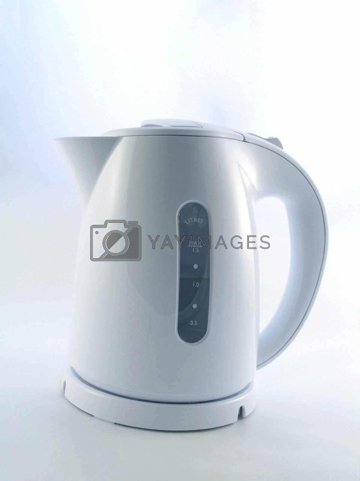 Electric kettle isolated on a white background