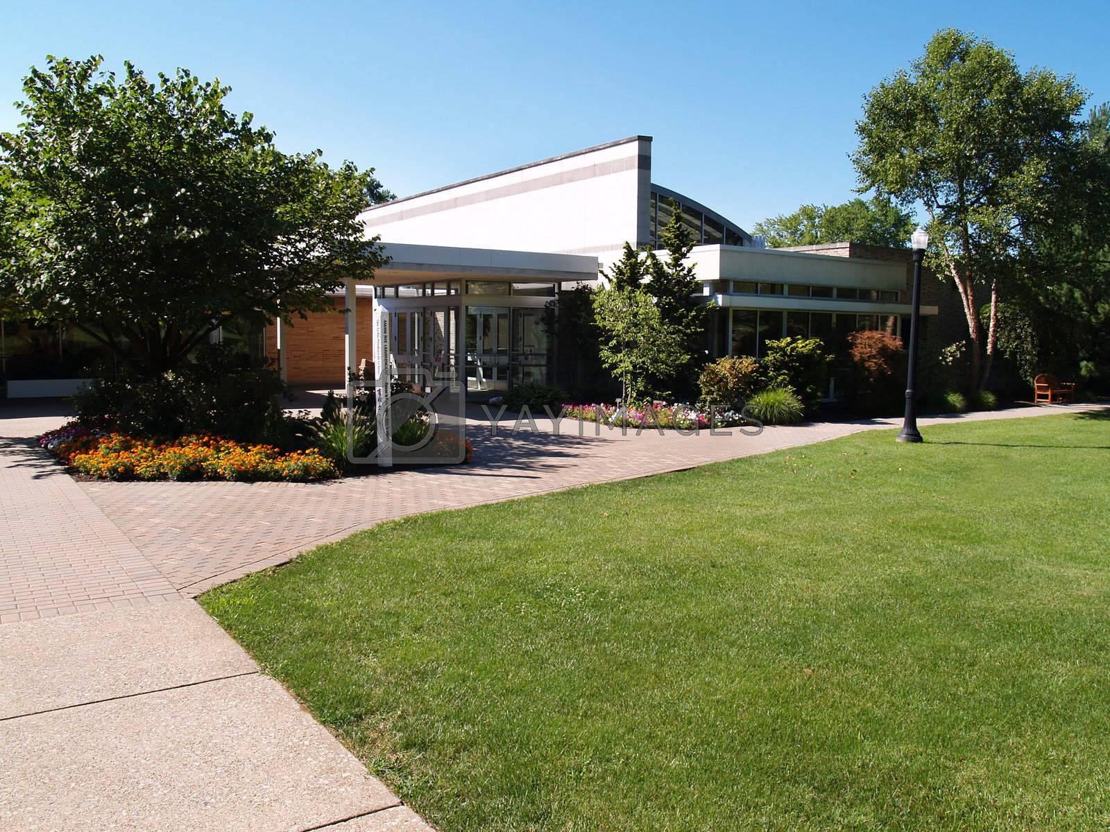 Royalty free image of Lees Hall, Cedar Crest College by cfarmer