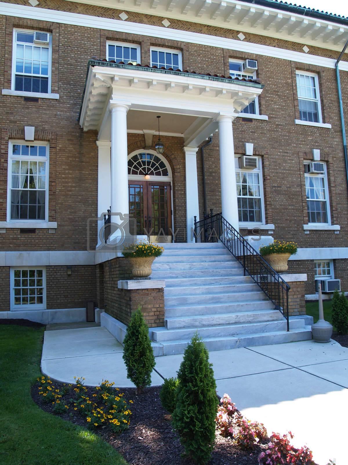 Royalty free image of Blaney Hall, Cedar Crest College by cfarmer