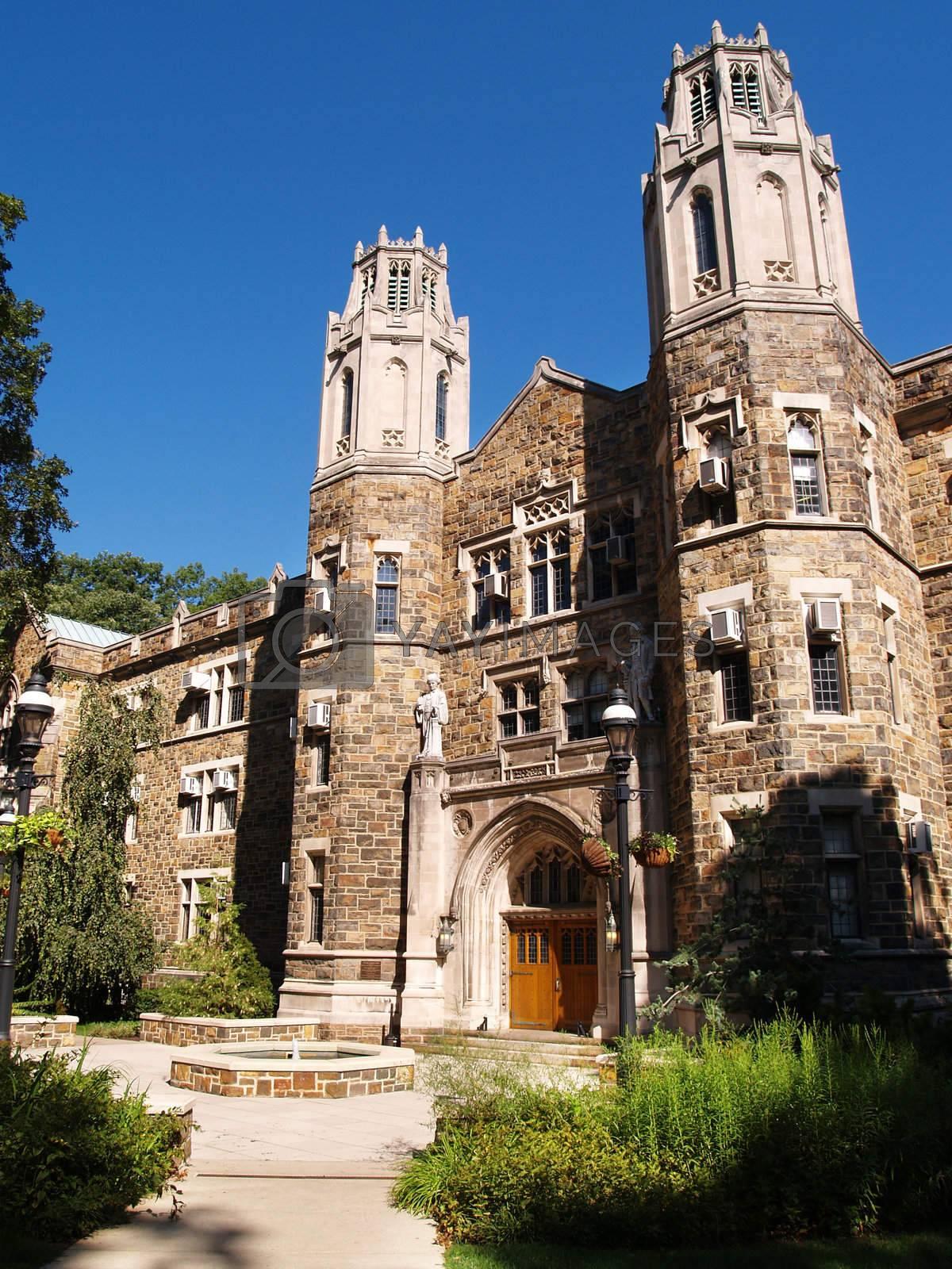 Packard Laboratory on the campus of Lehigh University in Bethlehem, Pennsylvania