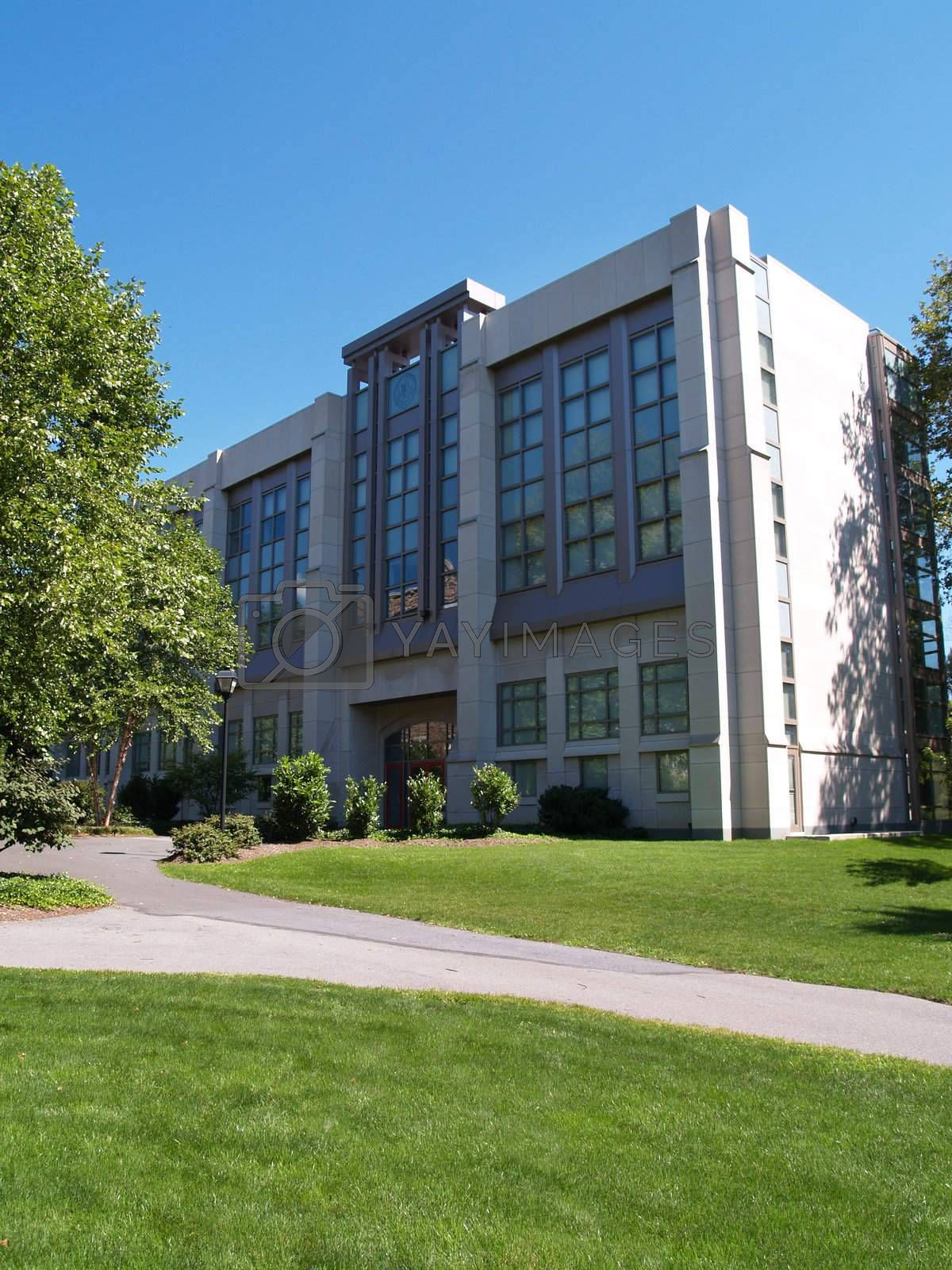 Moyer Hall on the campus of Muhlenberg College in Allentown, Pennsylvania