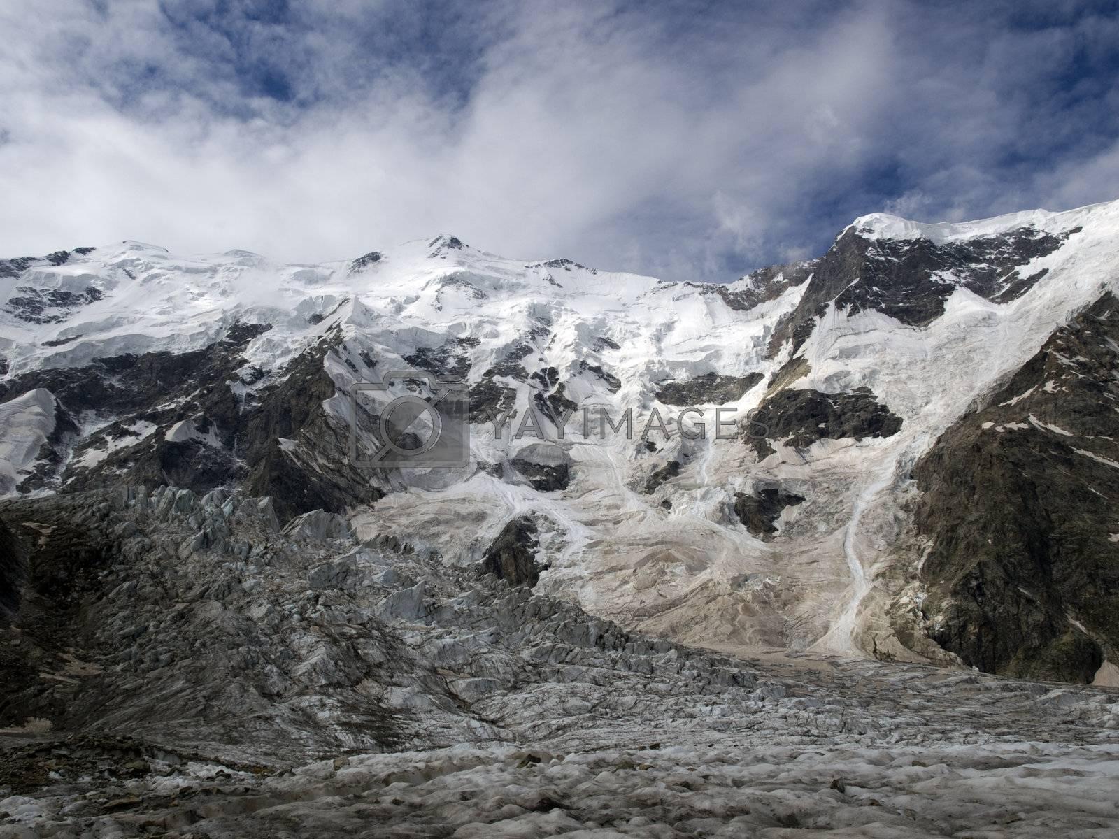 Mountains. Caucasus. Kabardino-Balkariya. Bezengi