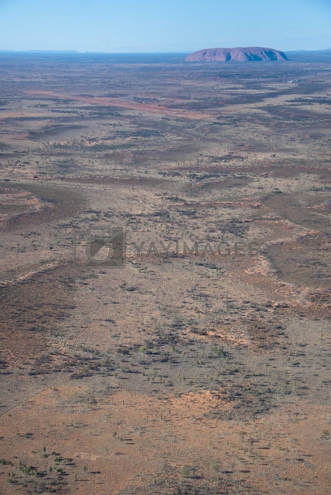 Australian Outback Aerial by jovannig