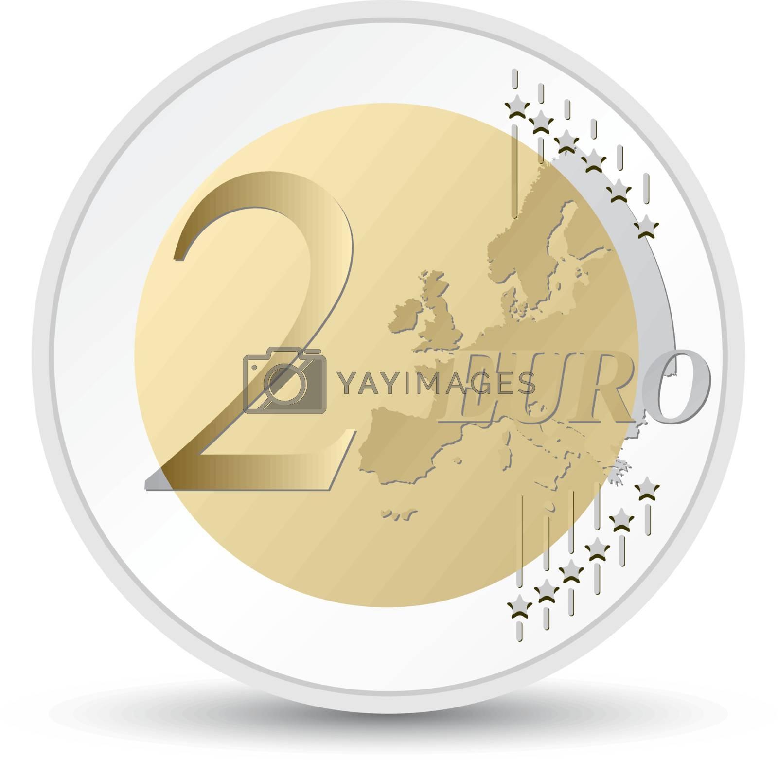 euro coin by jfcalheiros