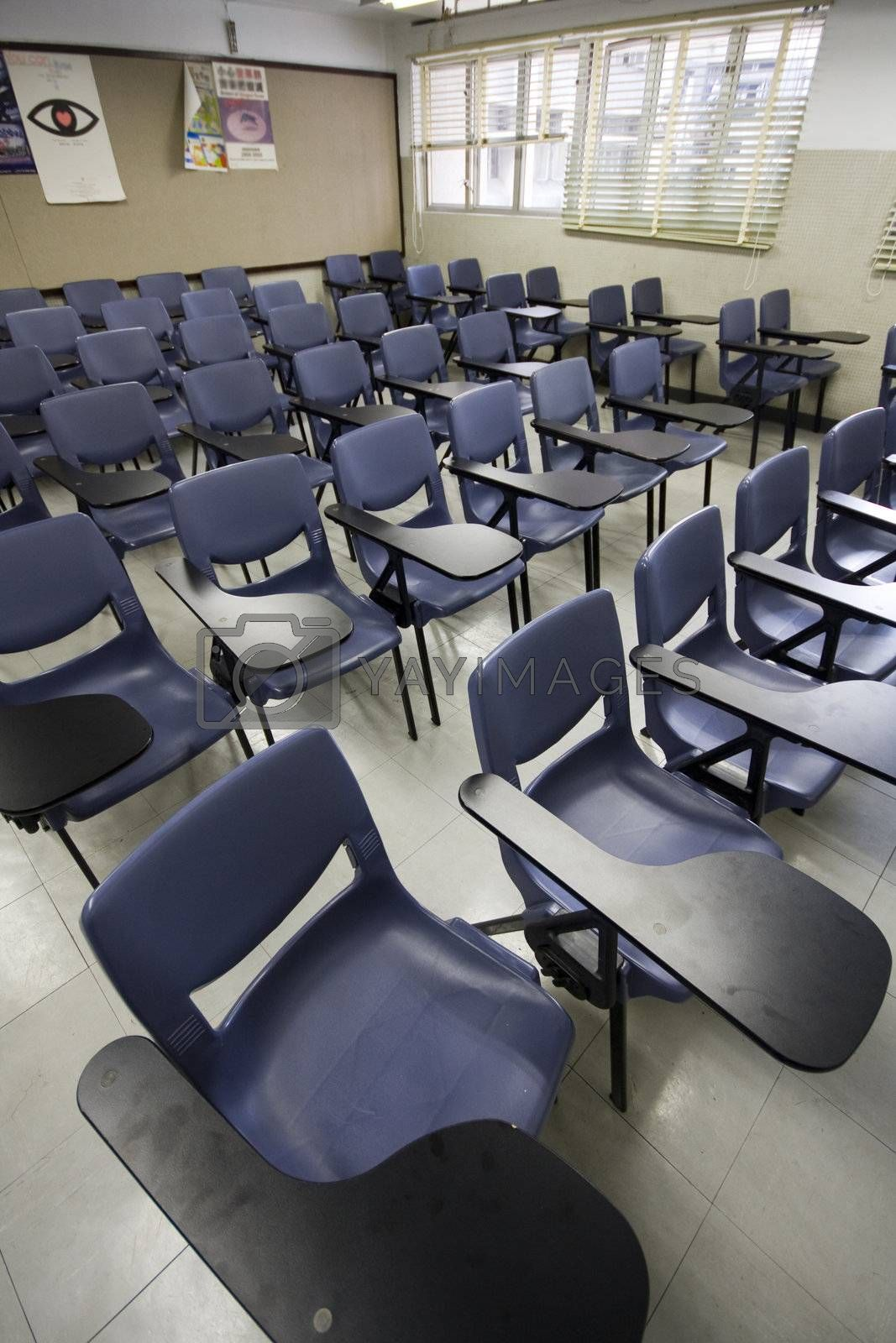 Empty Classroom by cozyta