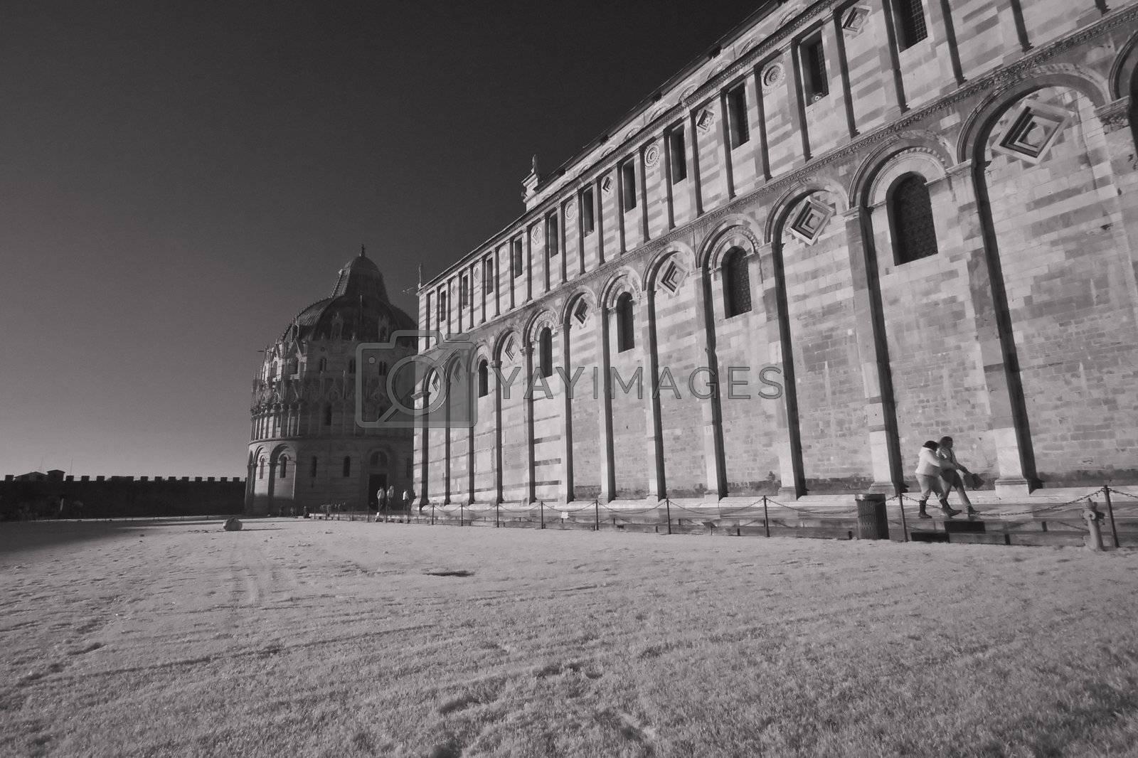 Piazza dei Miracoli, Pisa, Tuscany, December 2009 by jovannig