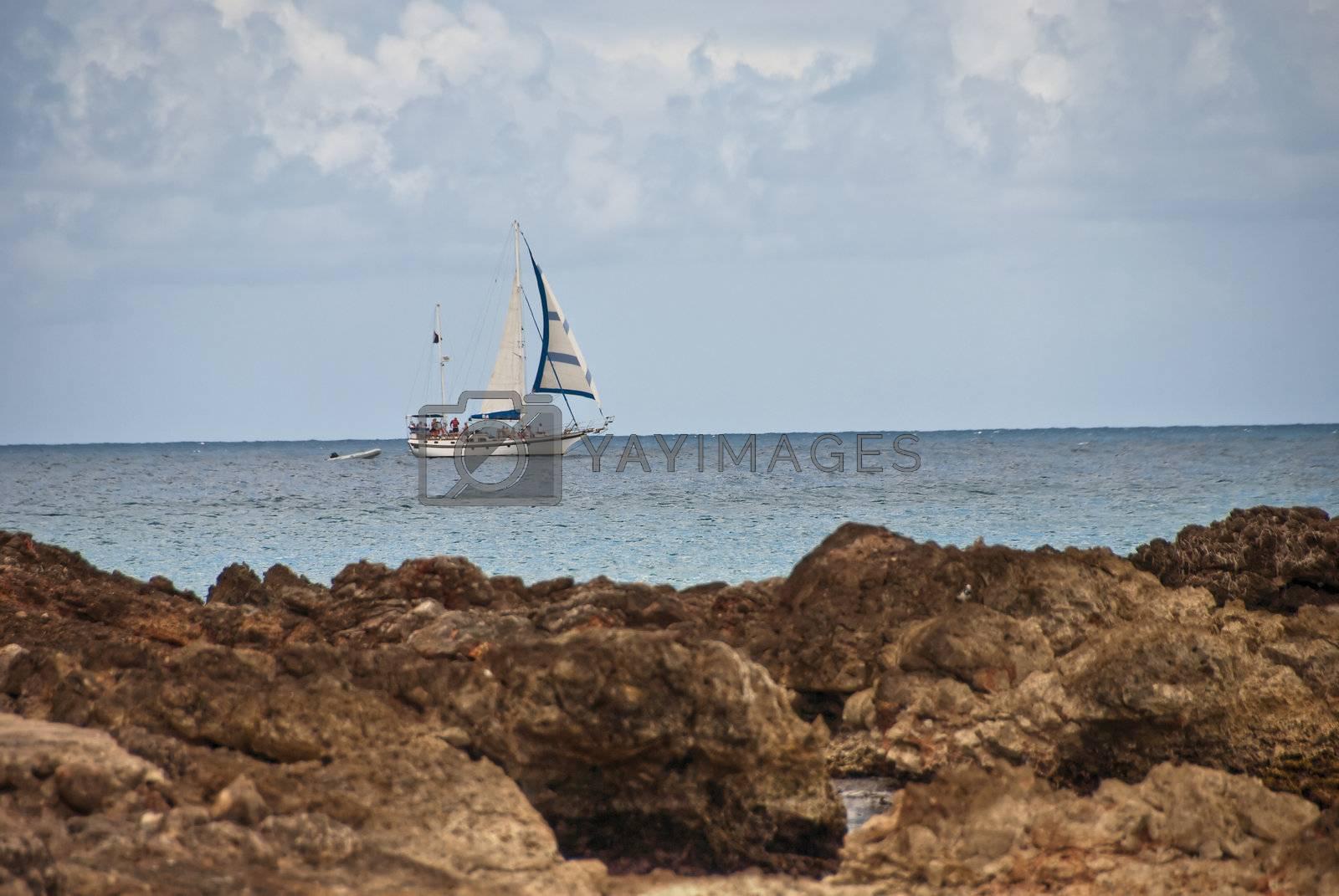 Saint Maarten Coast, Dutch Antilles by jovannig