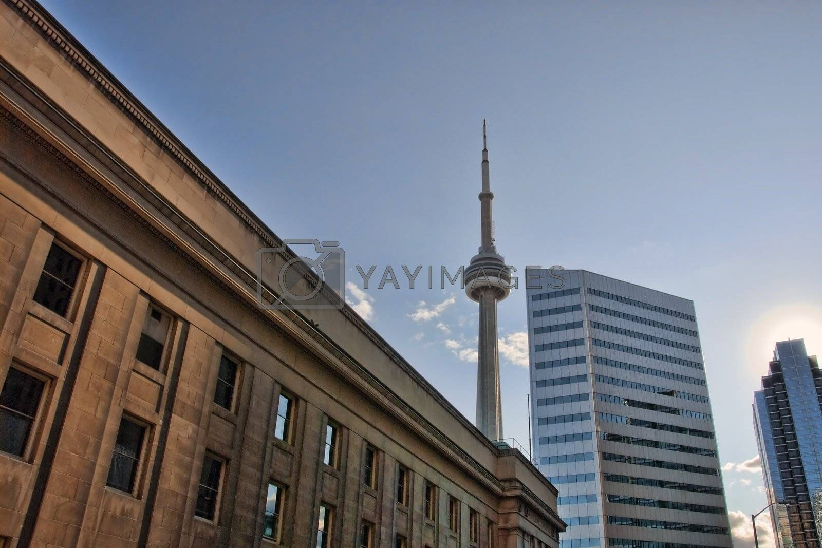 Architectural Detail of Toronto, Canada, August 2008 by jovannig