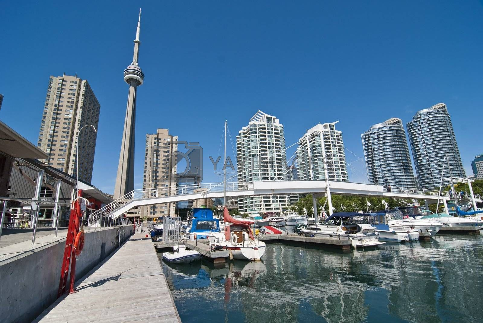 Architectural Detail of Toronto, Ontario, Canada, 2008 by jovannig
