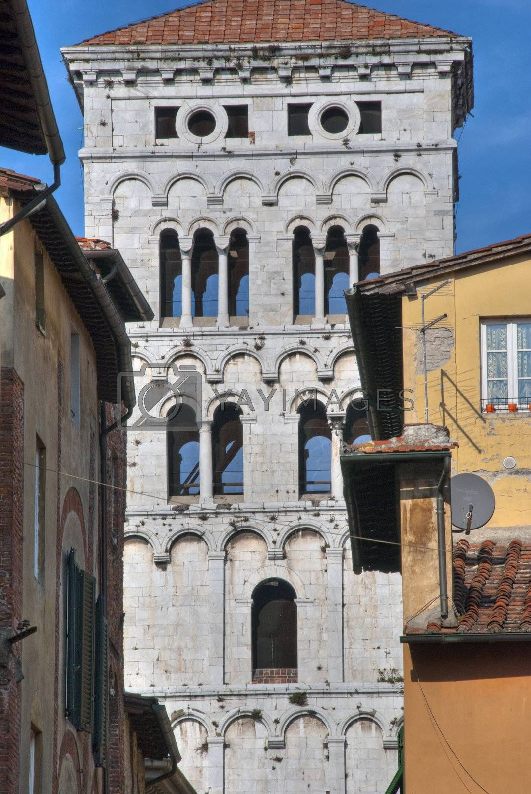 Architecture Detail in Lucca, Tuscany, Italy, October 2009 by jovannig