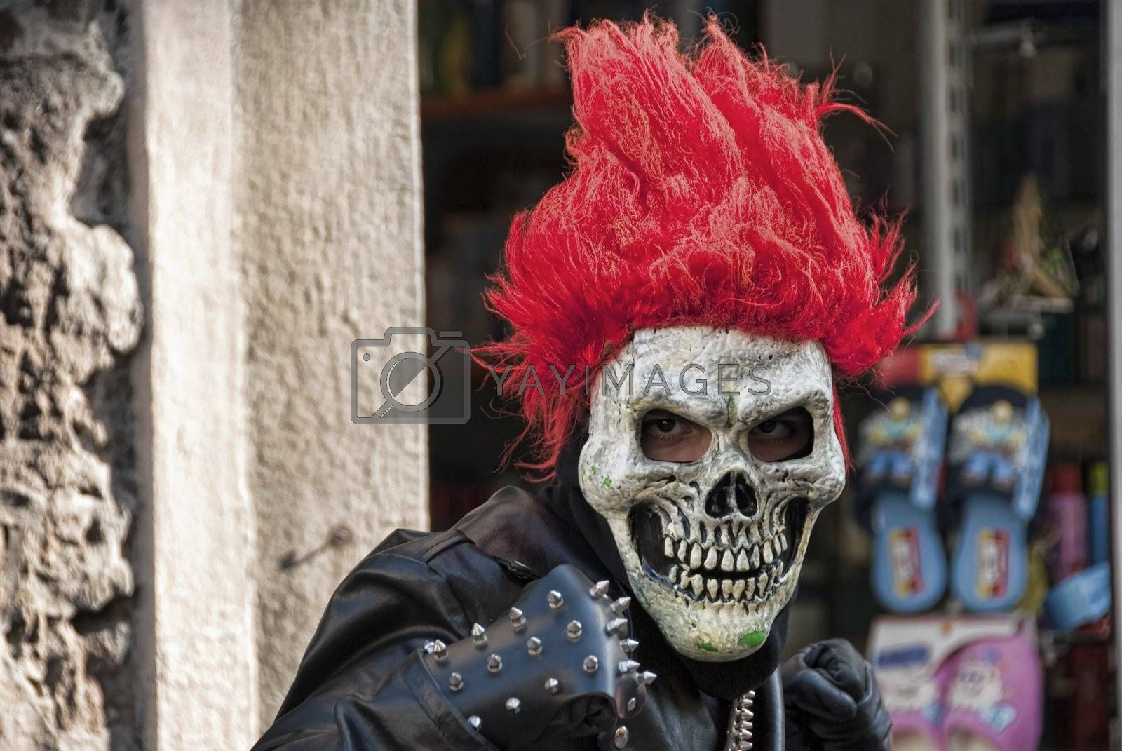 Carnival Mask, Italy by jovannig