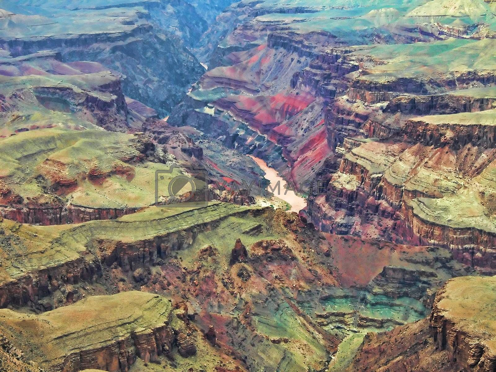 Grand Canyon, U.S.A. by jovannig