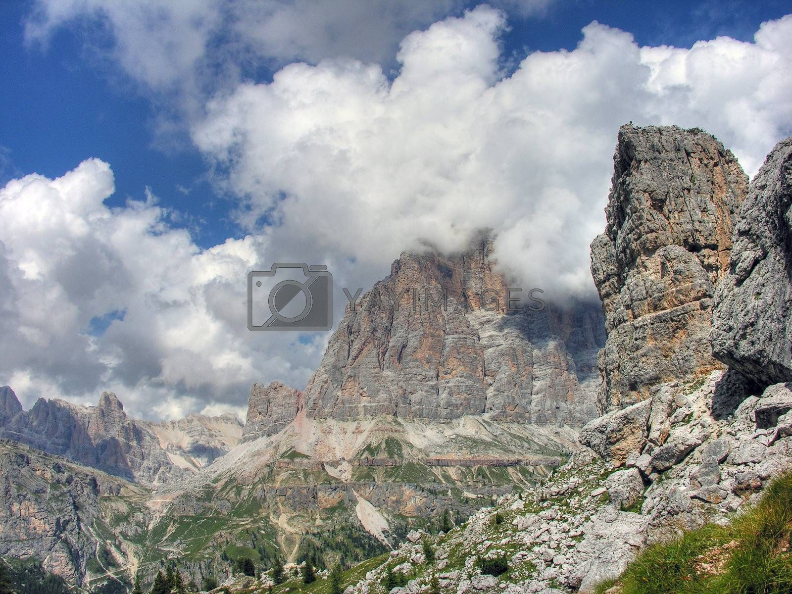 Dolomites Mountains, Italy, Summer 2009 by jovannig