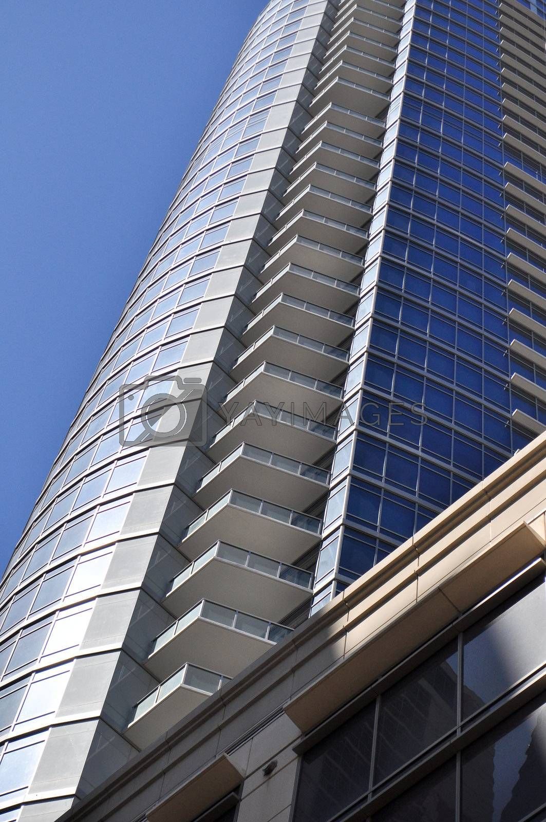 Austin Skyscraper Perspective by RefocusPhoto