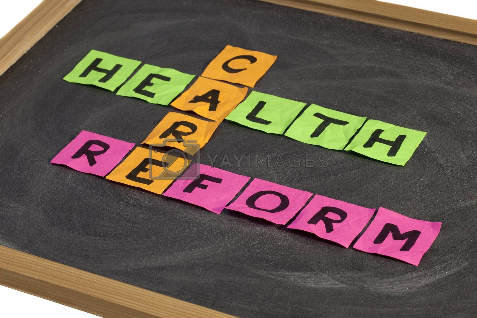 health care reform crossword by PixelsAway