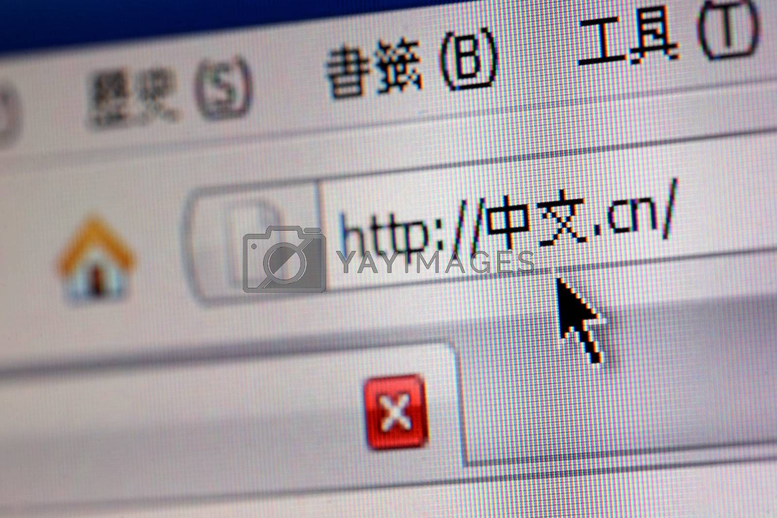 A chinese domain name by leungchopan