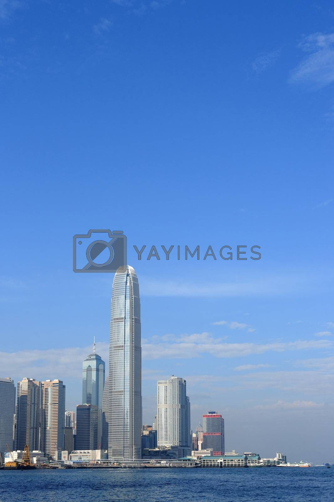 Royalty free image of International Finance Centre by leungchopan