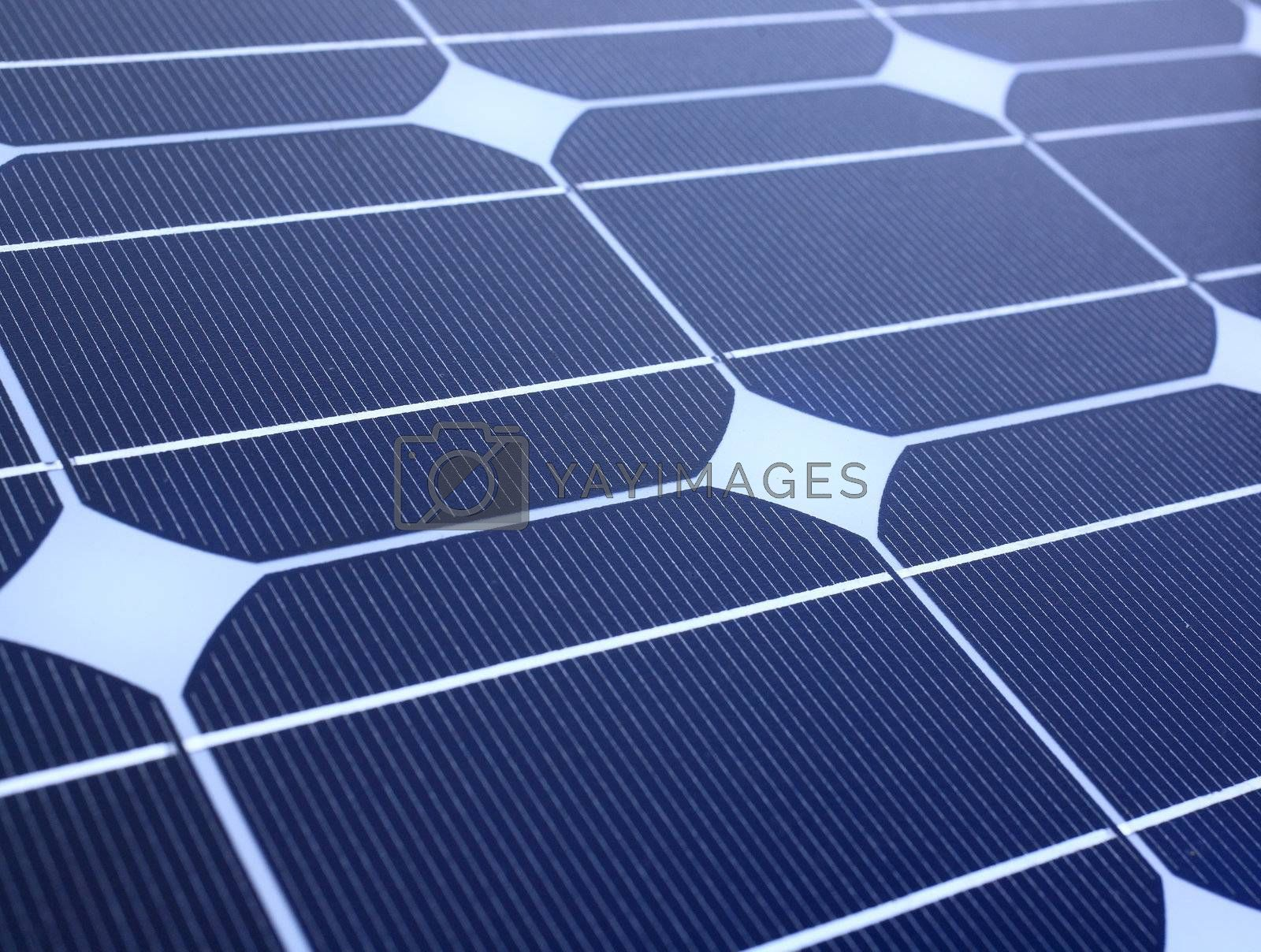 Royalty free image of solar panel by leungchopan