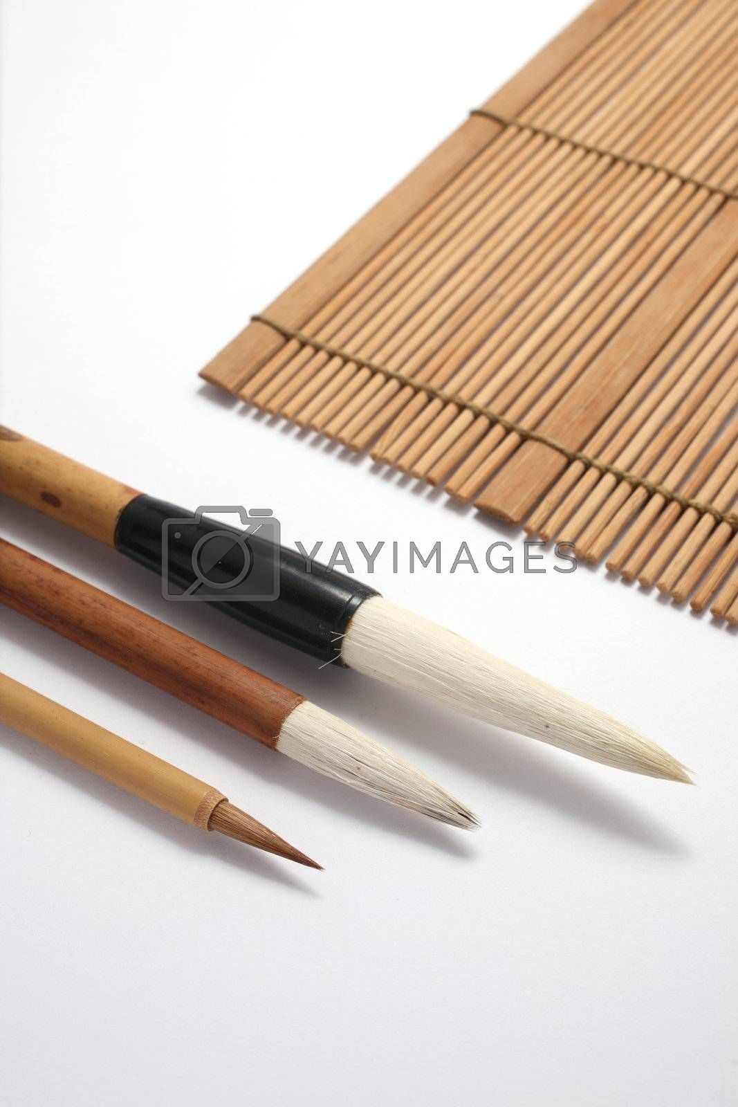 Chinese writing brush by leungchopan