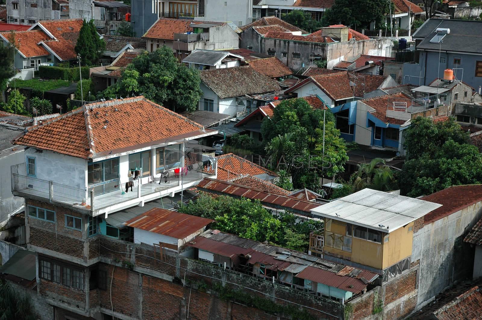 slum area by bluemarine