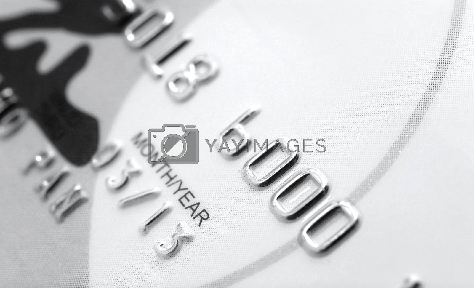 Royalty free image of credit card by leungchopan